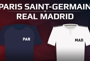 Paris Saint-Germain VS Real Madrid
