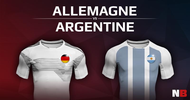 Allemagne VS Argentine