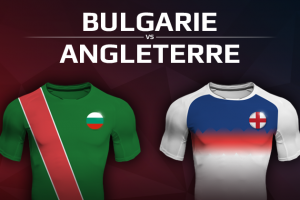 Bulgarie VS Angleterre