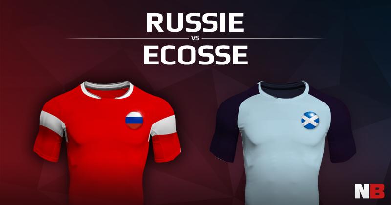 Russie VS Ecosse