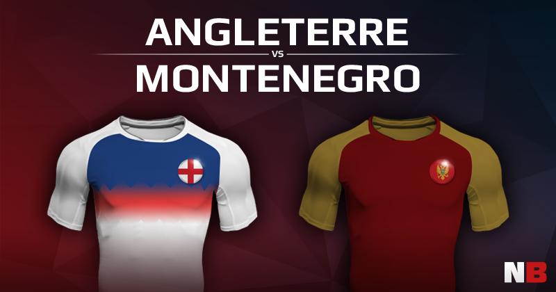 Angleterre VS Monténégro
