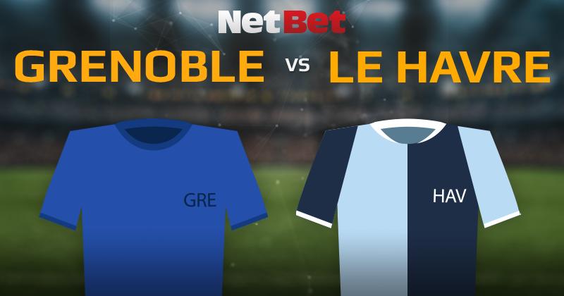 Grenoble Foot 38 VS Le Havre Athletic Club