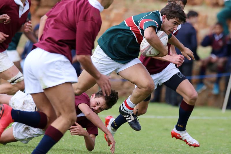 Joueurs de rugby