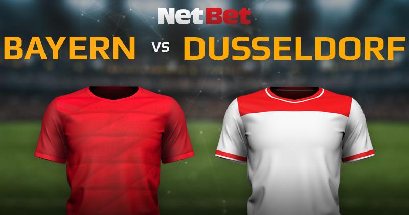 Bayern Munich VS Fortuna Düsseldorf