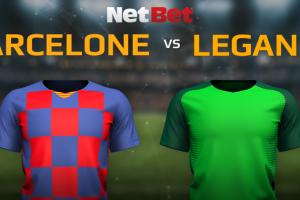 FC Barcelone VS CD Leganes