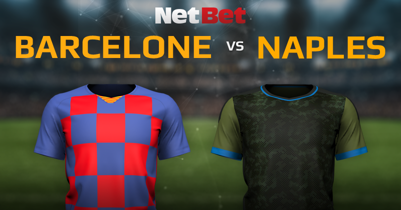 FC Barcelone VS SC Naples
