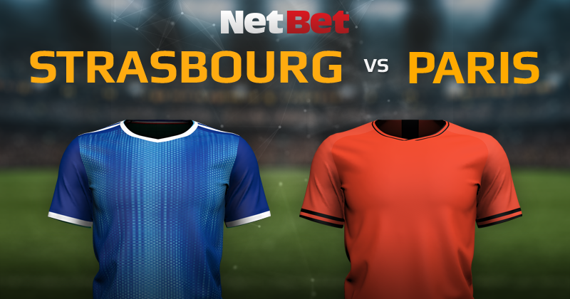 RC Strasbourg VS Paris Saint-Germain